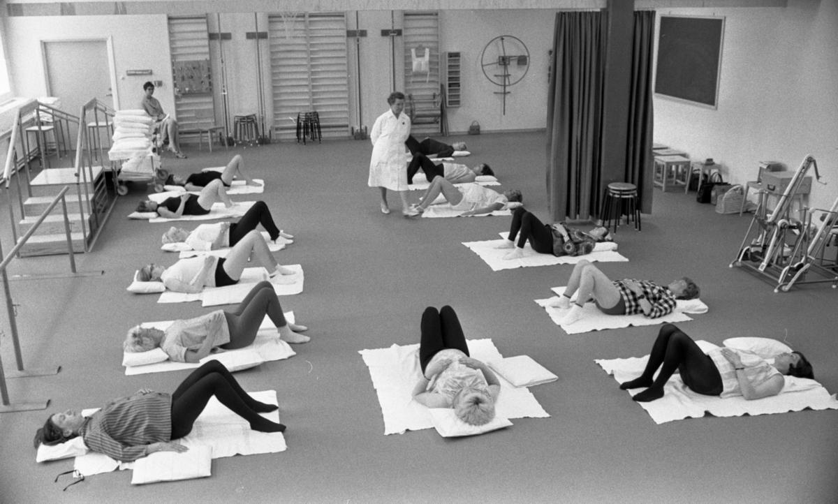 Mödragymnastik 28 juli 1967
