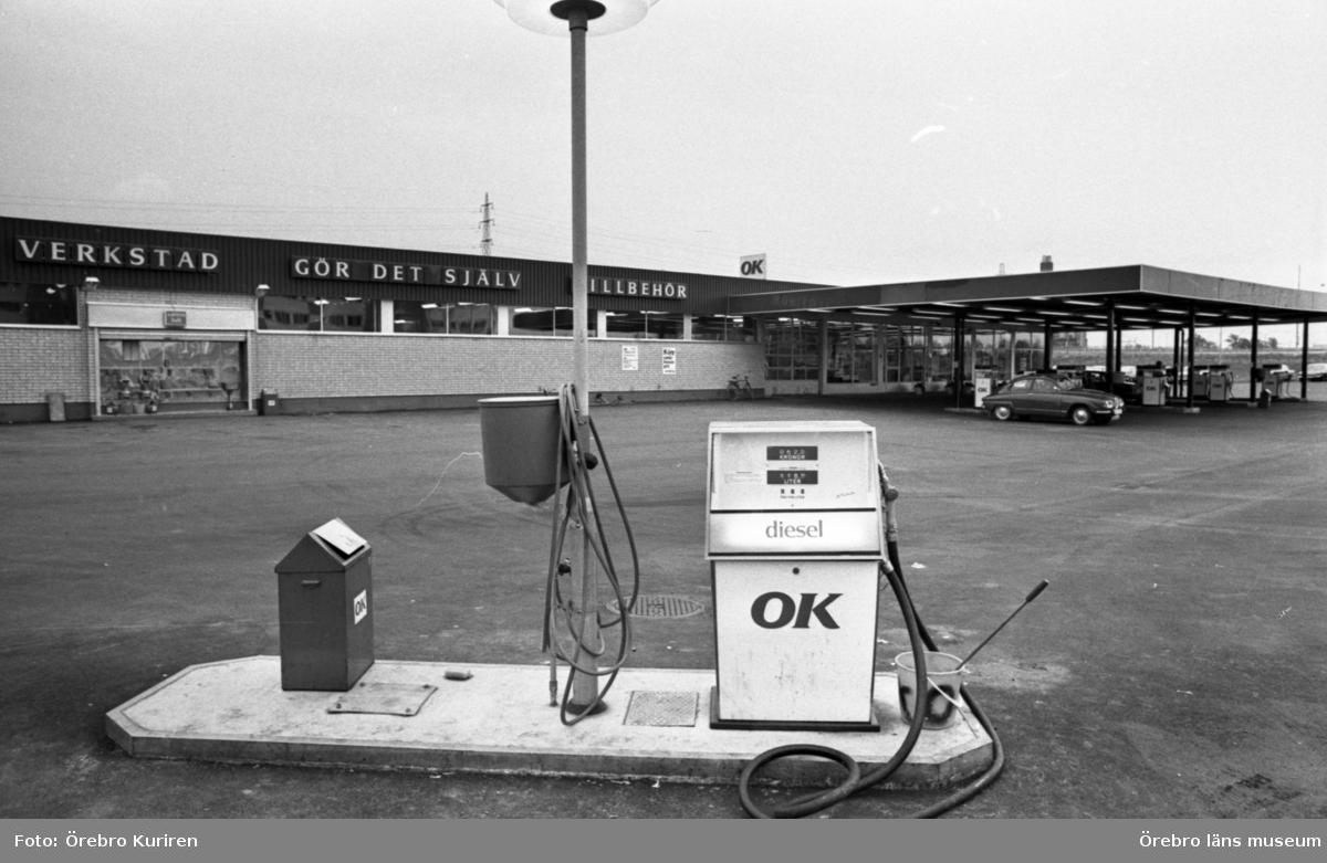 Stora och små mackar. 21 oktober 1974.