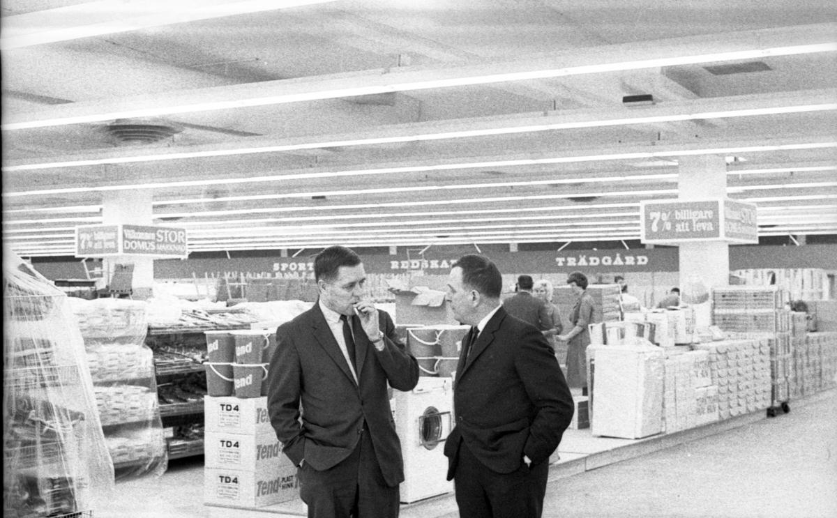 Domus Stormarknad invigning24 februari 1965