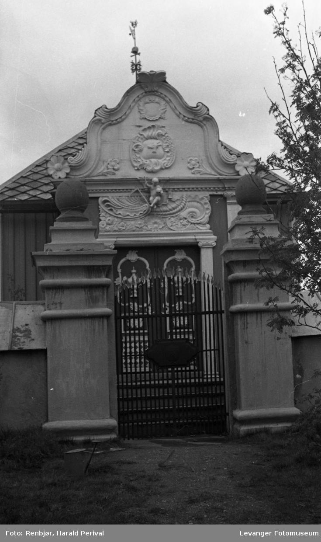 Barokkmotiv fra Røros kirke.
