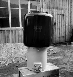 Gasgenerator, aggregat för Norge.