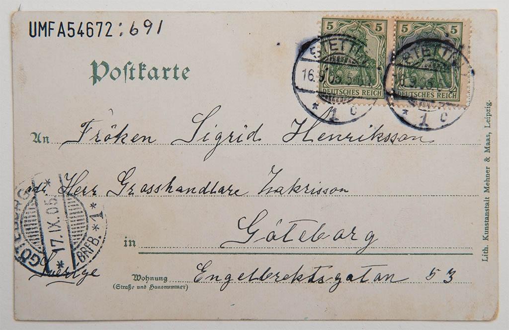 Lossning av sillångarna i Stettin 1893