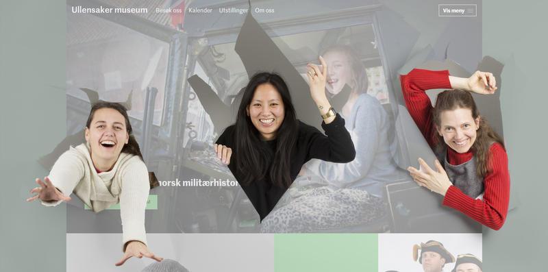 De ansatte på Ullensaker museum river seg gjennom nettsiden