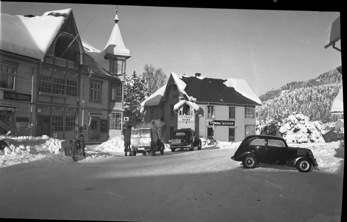Gatemiljø, Skarpsno på Fagernes