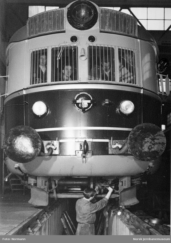 Front av motorvogn type 88