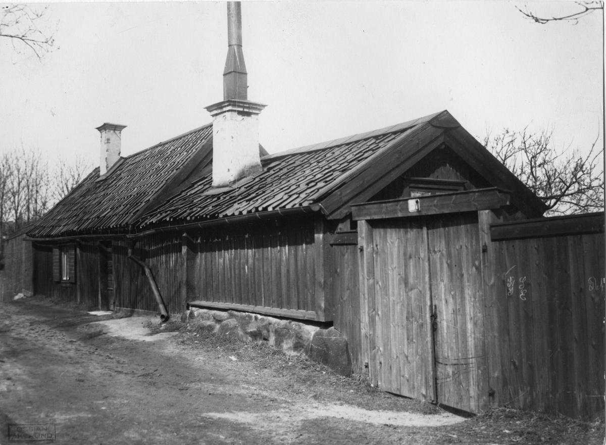Trähus på Åsögatan 157 i Stockholm.