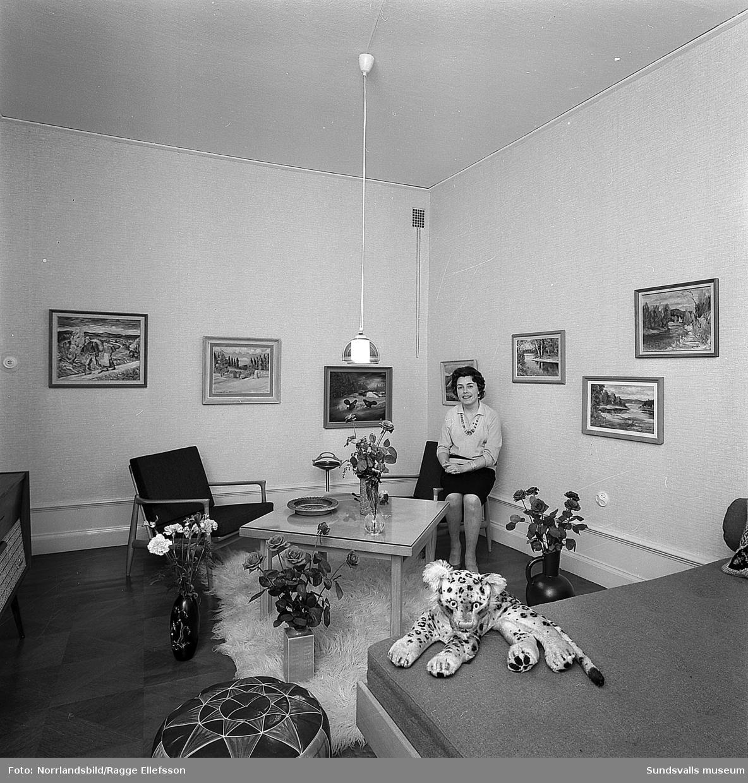Harriet Bybergs syateljé på Sjögatan 7.