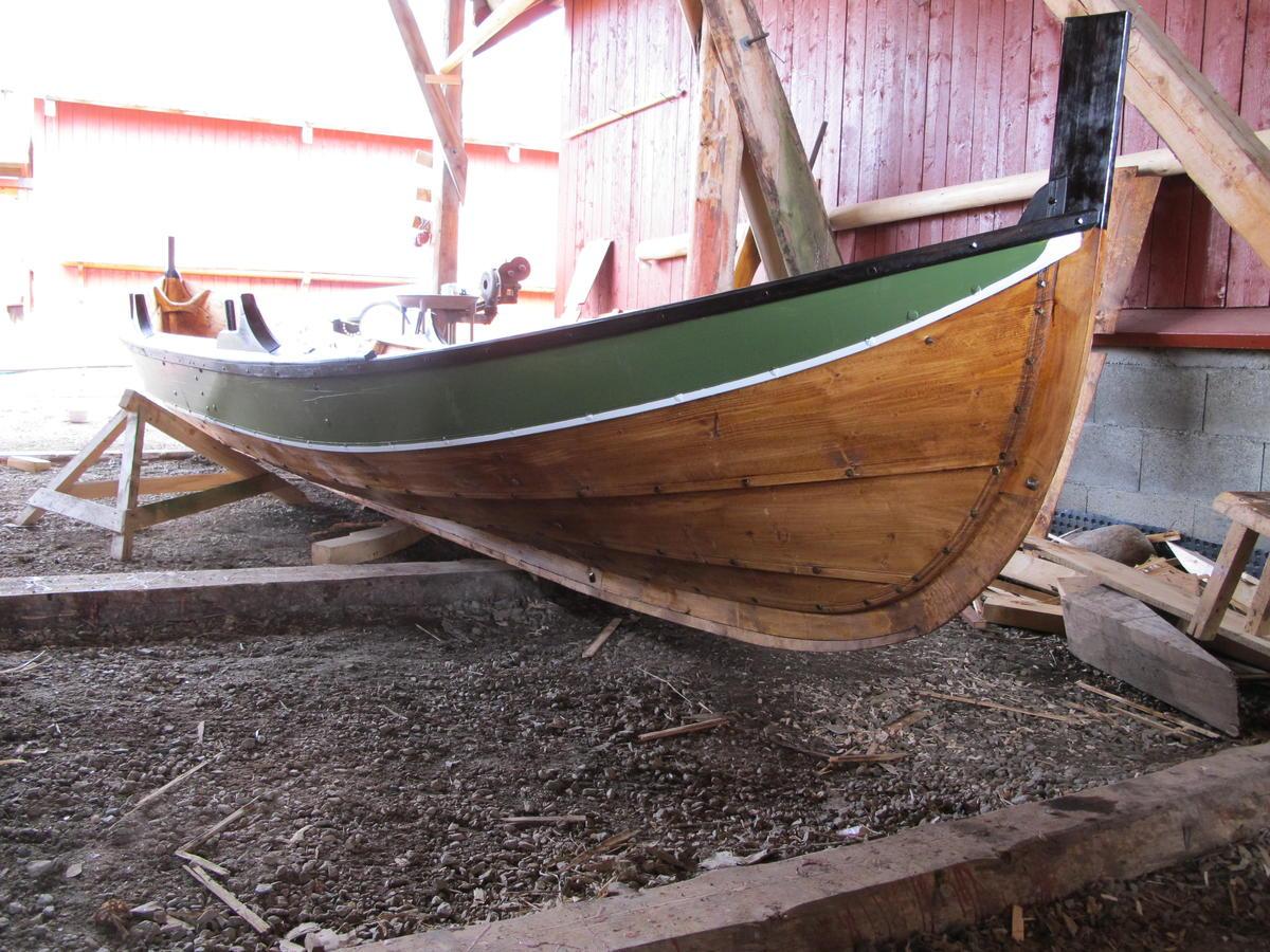 Kopi av Vadabåten i Malm. Vakre linjer! (Foto/Photo)