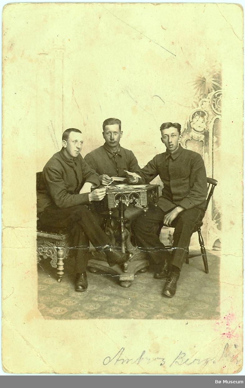 3 menn, heilfigur