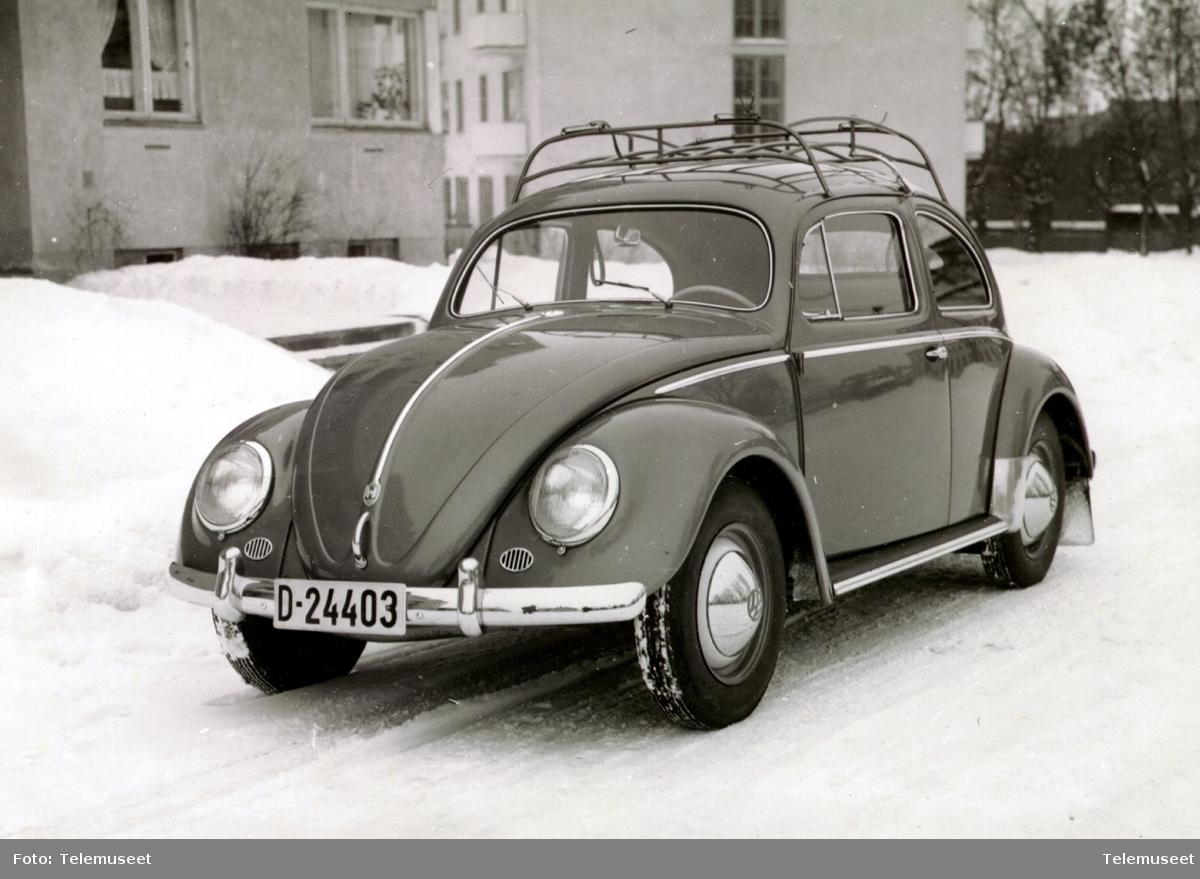 Folkevogn D-24403 brukt av automatgruppa i Hamar