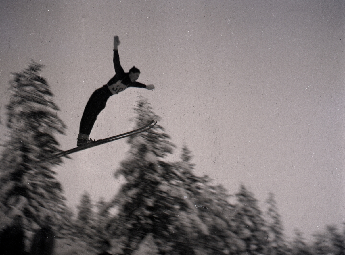 Ski jumping at Persløkka, Kongsberg