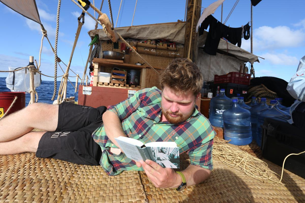 Det harde liv til sjøs. Foto: KonTiki2-ekspedisjonen. (Foto/Photo)