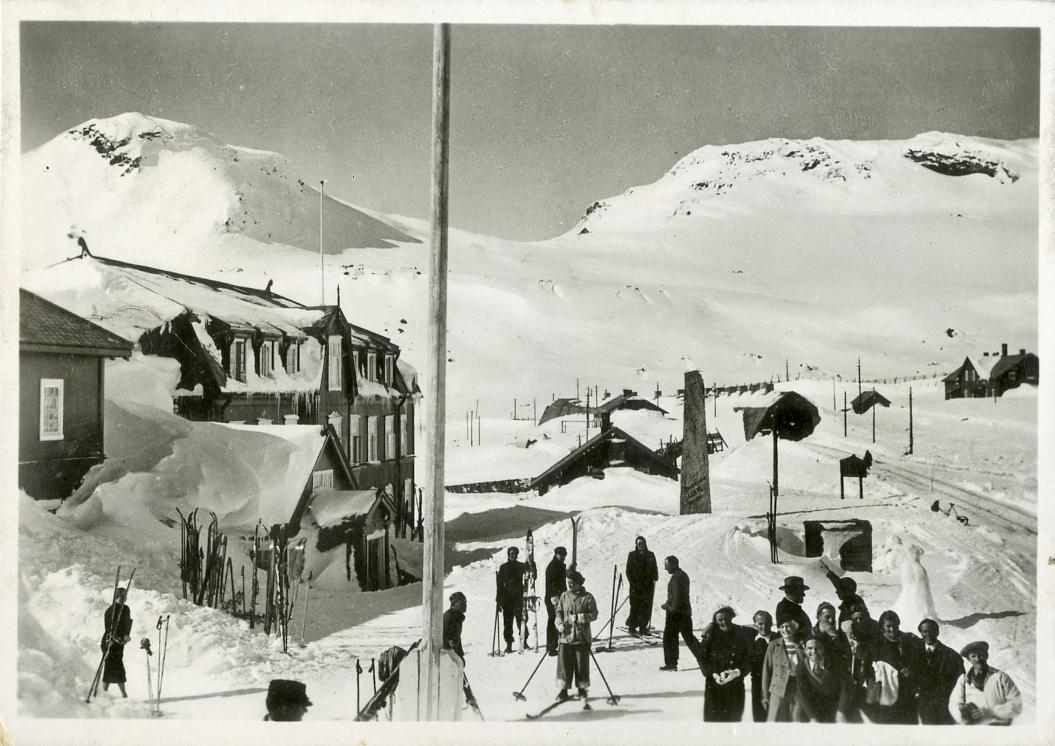 Ski vinter Finse