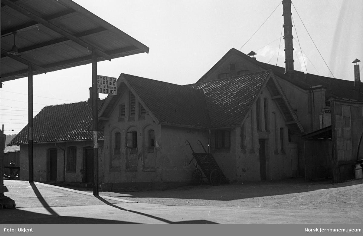 Halden stasjon, deler av lokomotivstallen