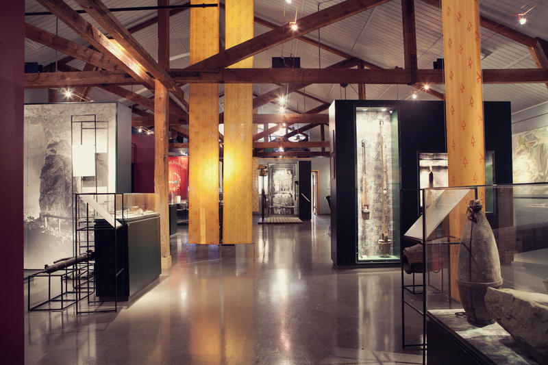 På Informasjonssenteret er Bergverksutstillingen en del av de faste utstillingene på Orkla Industrimuseum. (Foto/Photo)