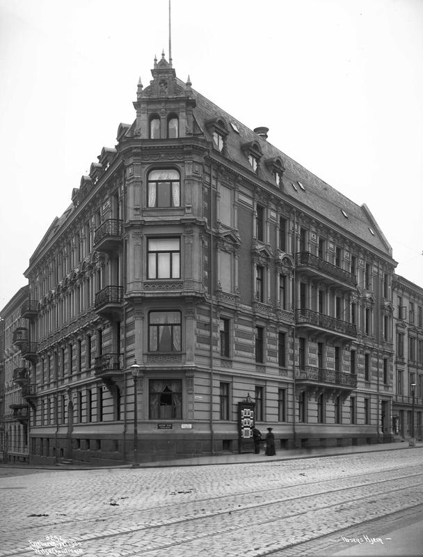 Arbins gate 1, where Henrik Ibsen lived. (Foto/Photo)