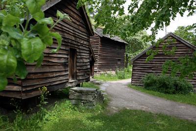 Hardangertunet på Norsk Folkemuseum. Foto/Photo