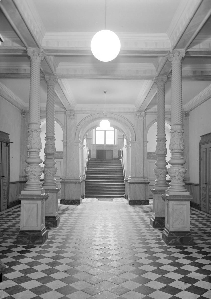 Interiör, Norrlands nation, Uppsala 1943