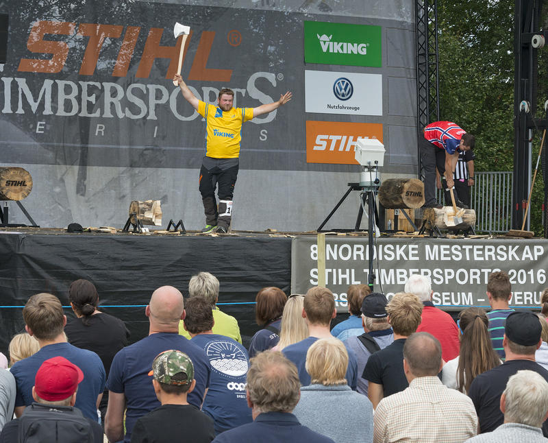 Nordisk mesterskap Stihl Timbersport 2016 (Foto/Photo)