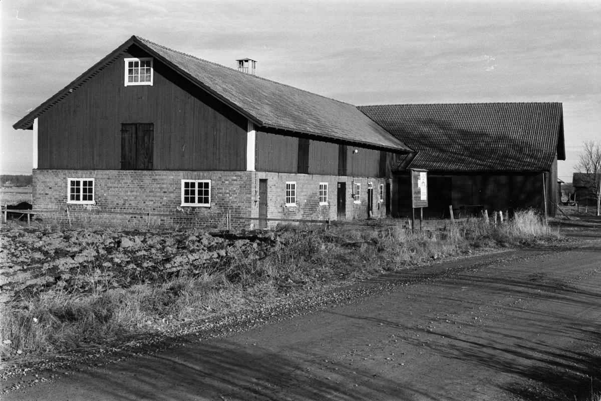 Ladugård och lada, Tensta-Forsa 2:1, Tensta socken, Uppland 1978