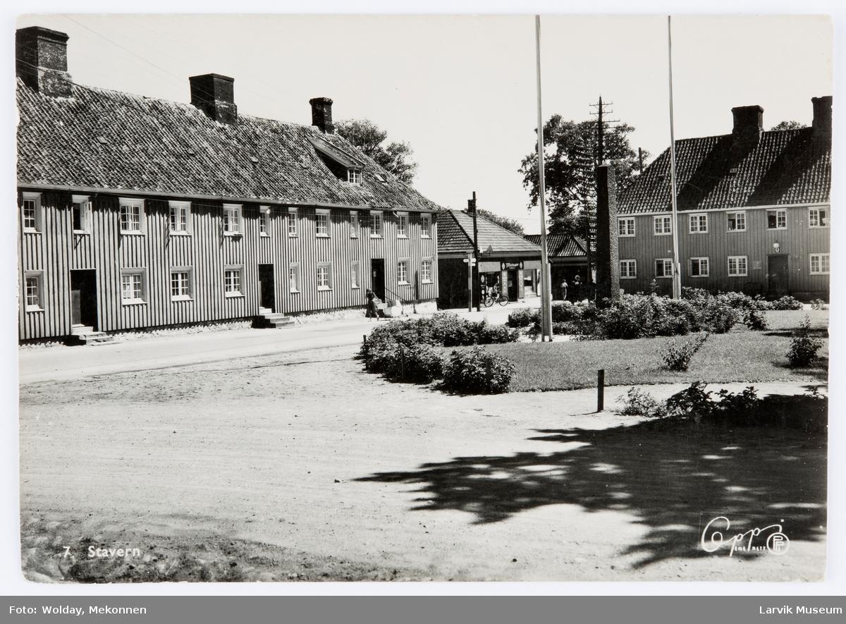 Fredriksvern, Stavern