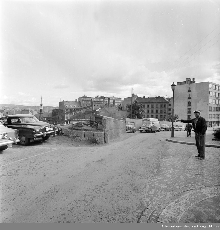 Fredensborgveien .September 1962
