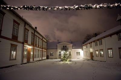 Vinter på Tunet