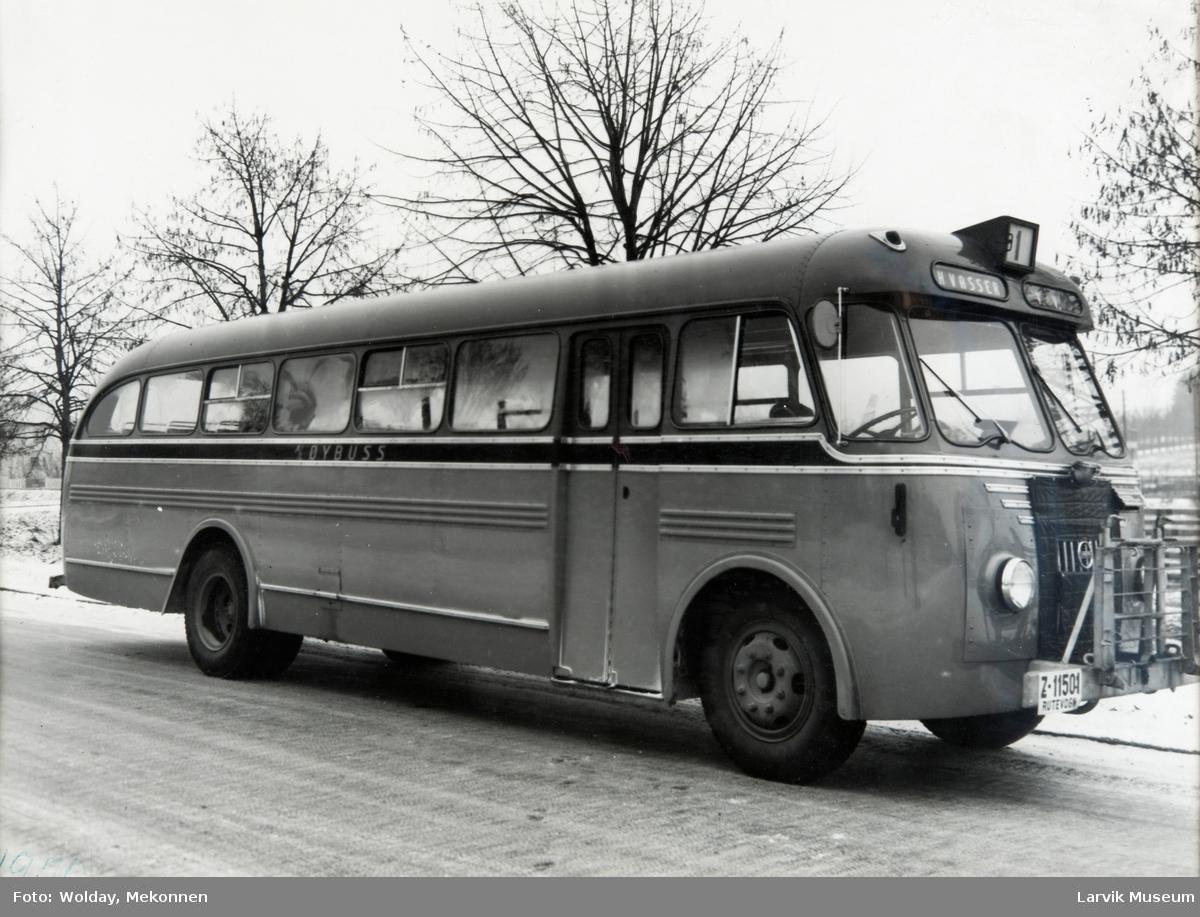 Rutebil til Hvasser