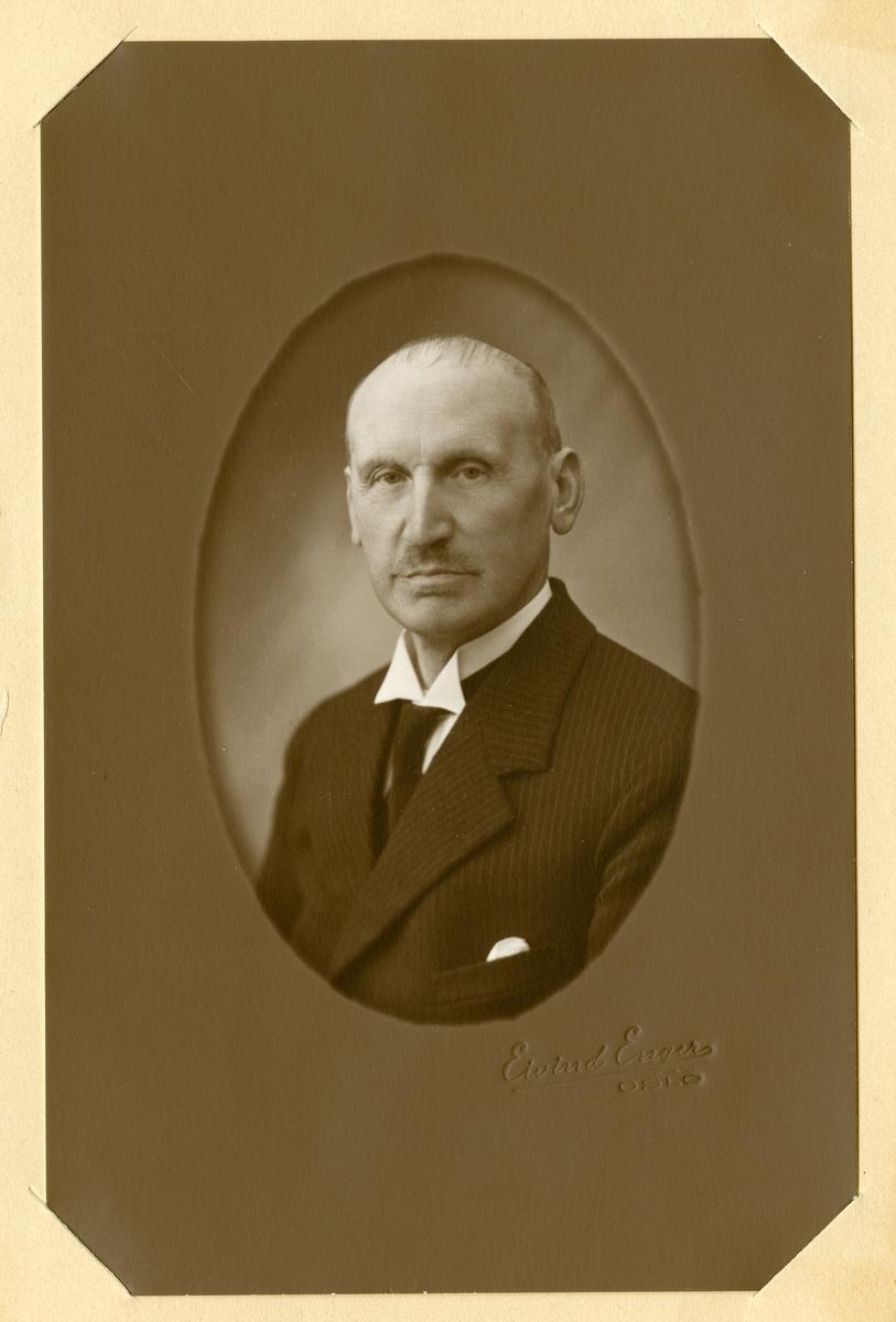 Portrett av Olaus Islandsmoen, ca 55 år gammel.