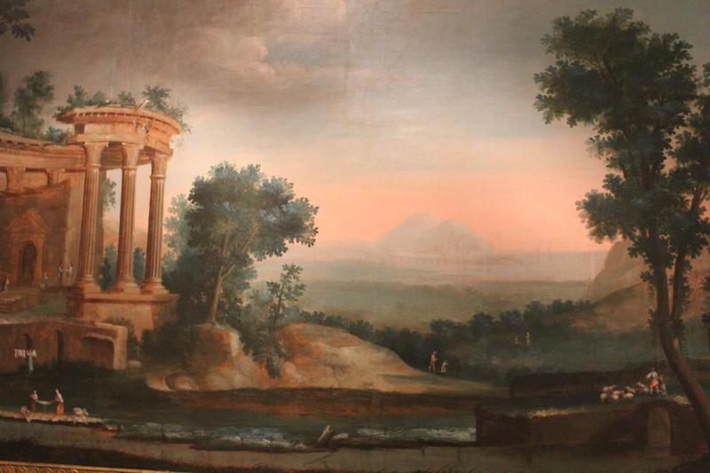 Maleri. fra Skippergata 19. NF.1898-0403