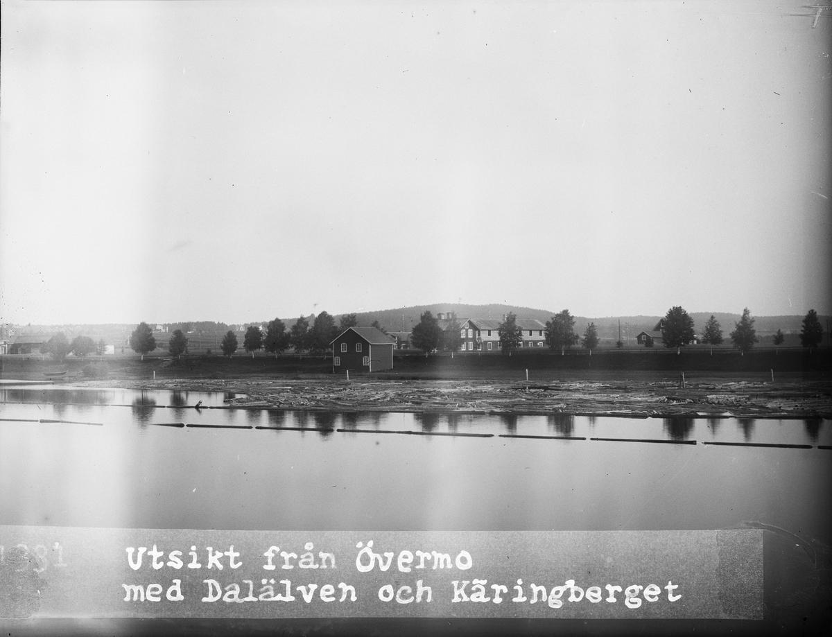 """""""Utsikt mot Käringberget från kvartetet i Övermo"""", Dalarna 1919"""