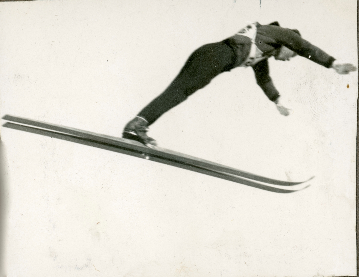 Athlete Sigmund Ruud in action