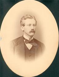 Portrett. Christensen, Christen.