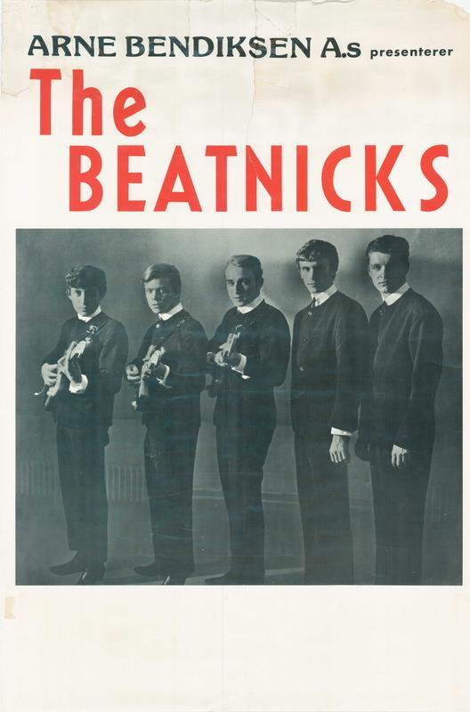 The Beatnicks: Plakat