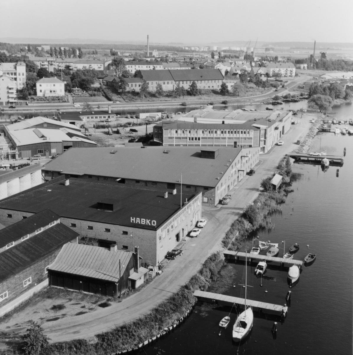 Vy från Löfbergsskrapan 1961.