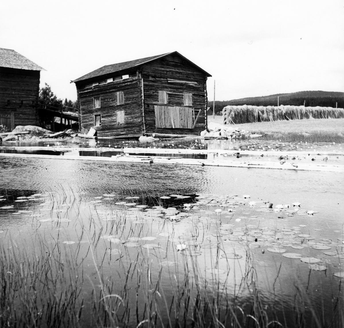 Västergårdens trösklada i Iste, Arbrå socken, Bollnäs kommun.