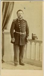 Porträtt av Ludvig Magnus Alexander Piper, kapten vid Upplan