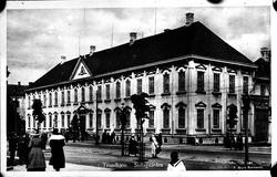 Stiftsgården, Trondheim. Reproduktion av KJ Österberg.