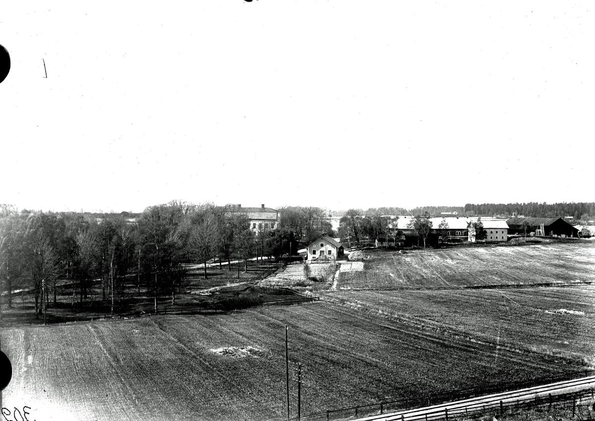 Strö gård, 1910. Fotograf E Sörman.