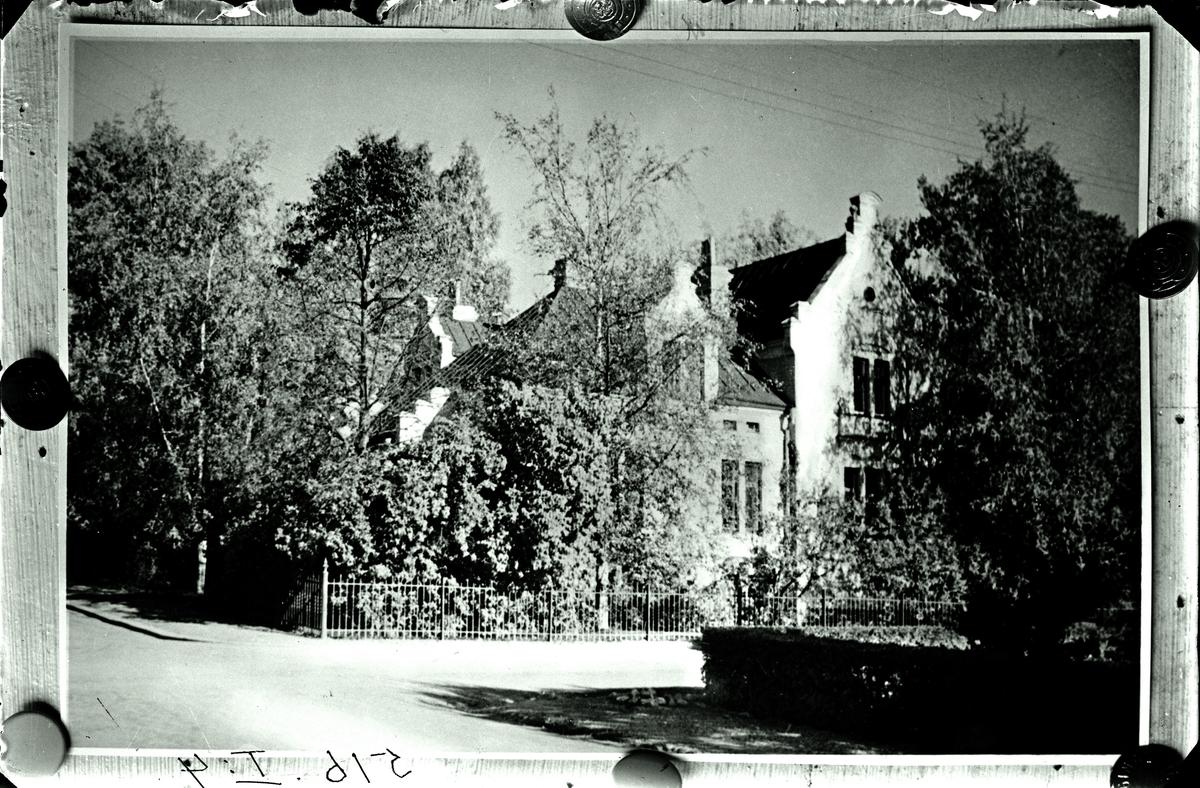 Lasarettsläkarebostaden 1931.