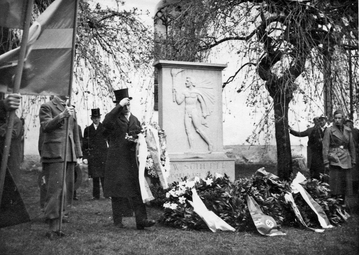 Scheelejubileet 1936.Dr. S. Gullström (Sthlm)