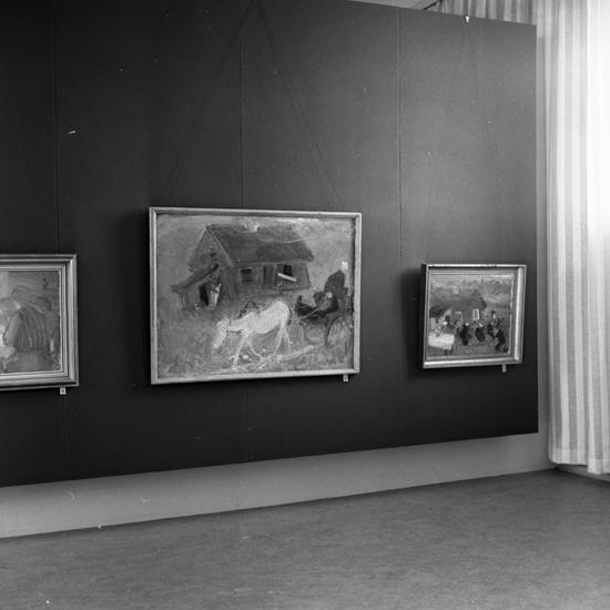 Konstutställning, Smålands museum, Växjö.