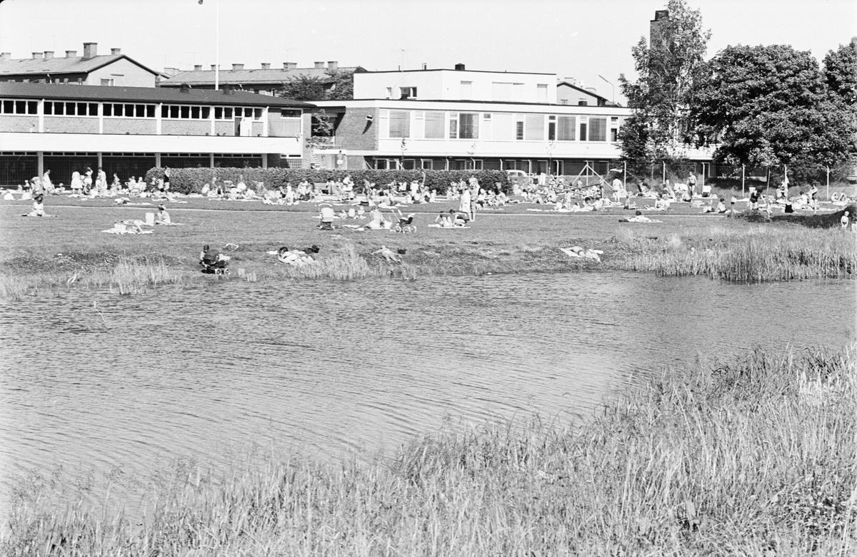 """""""Sommarsol över Uppsala"""", Uppsala juli 1963"""