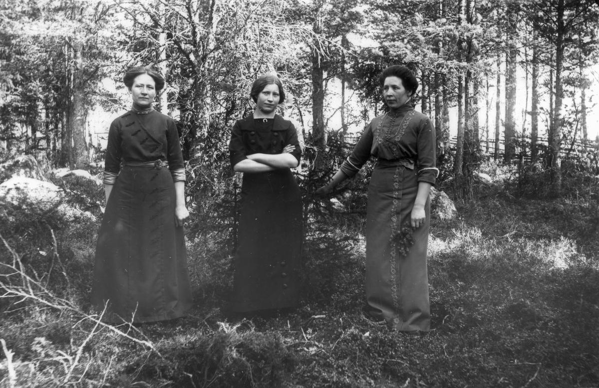 Systrarna Anna, Karin och Marta Eriksson (Stor-Pelles).