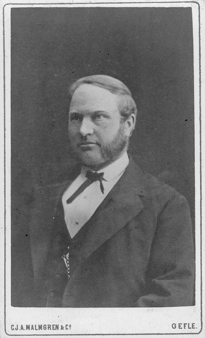 C. L. Almegren, 1:e lantmätare. Stadsingeniör.