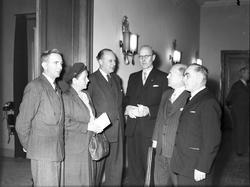Arbetarskyddskurs. 2 december 1949.