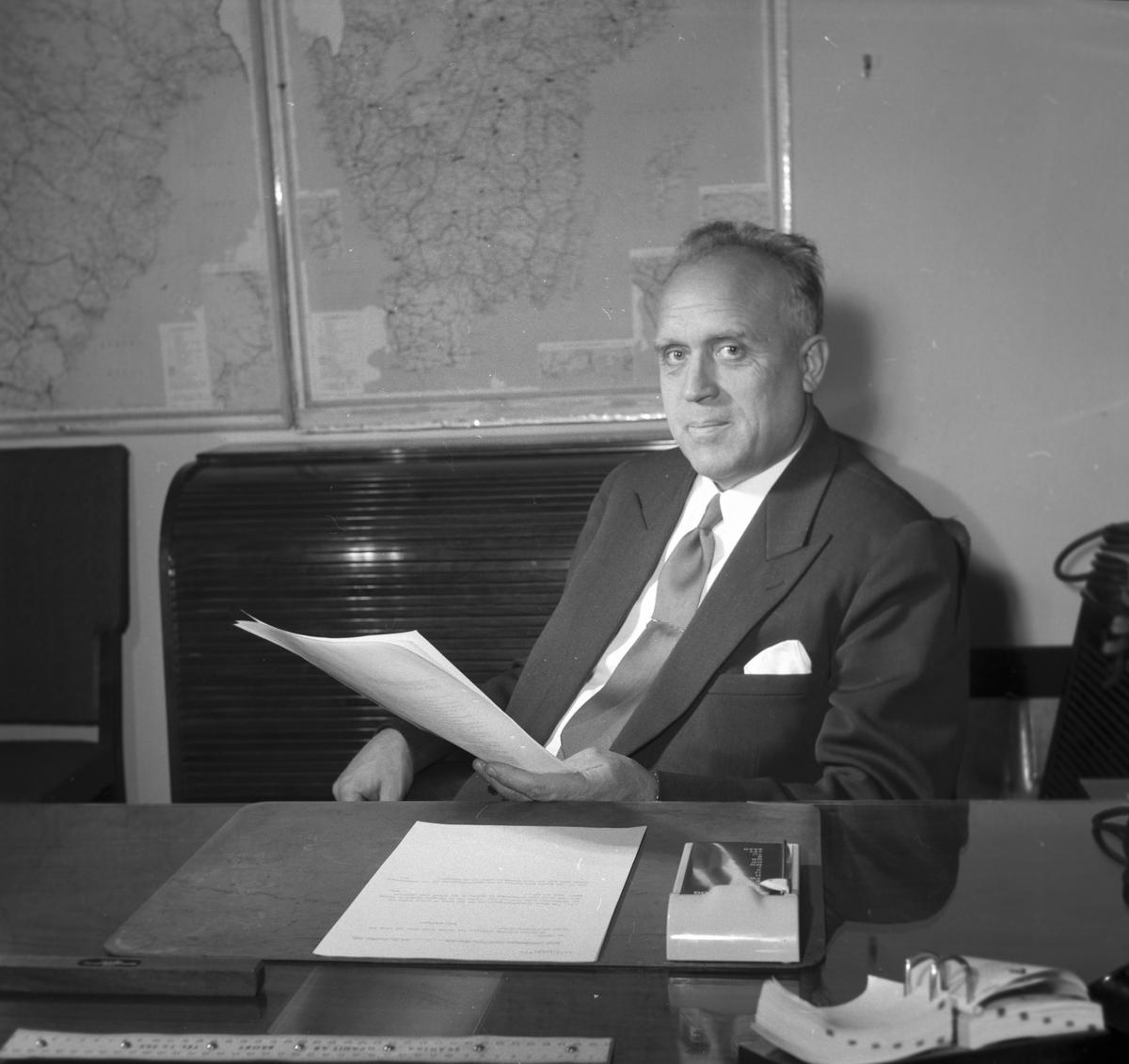 Gävle Galvan. Ägaren och VD:n Arne Sjöström.