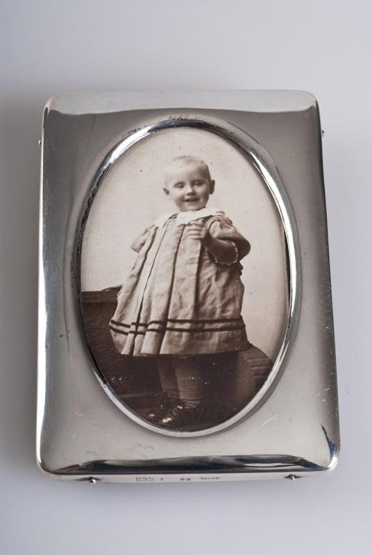 Bilde i ramme, Kirsten Flagstad som ettåring. 1896