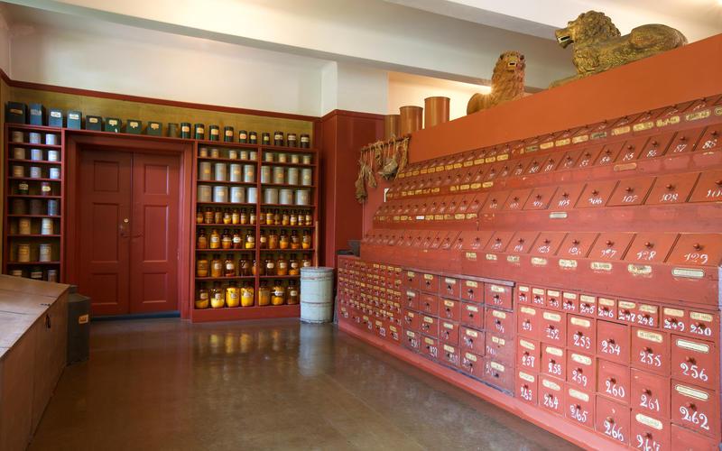 Urtekammeret i Farmasimuseet