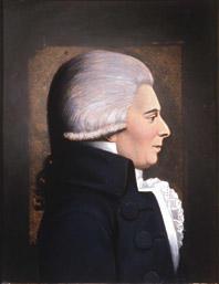 Portrett av Claus Bendeke. Profil mot høyre. (Foto/Photo)